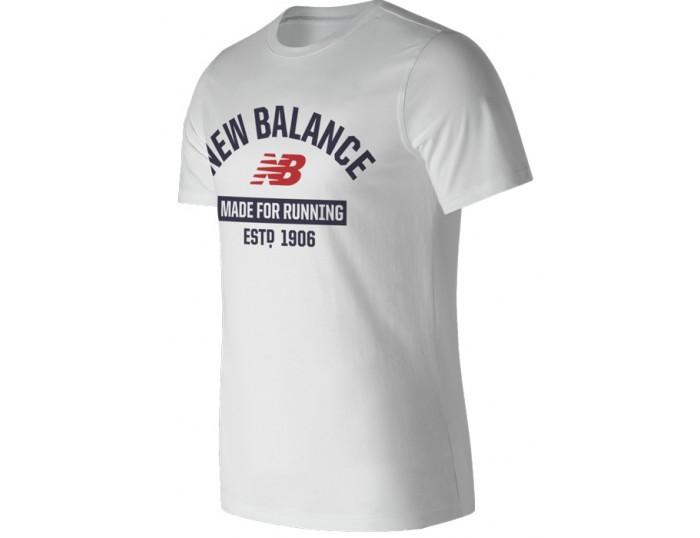 new balance Remeras blanco