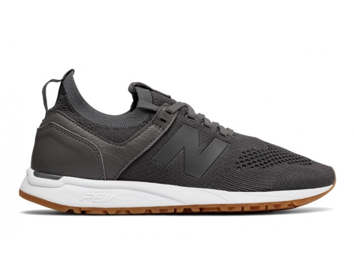 new balance gris oscuro mujer
