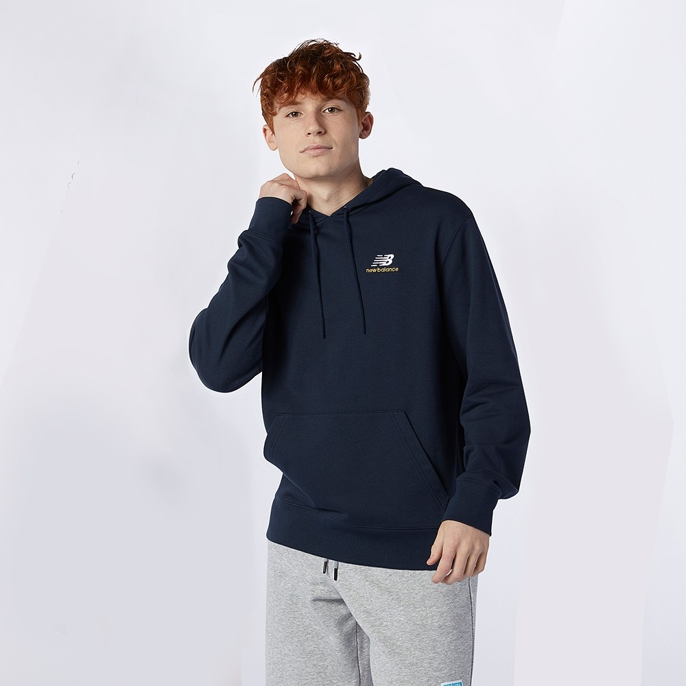 Buzo New Balance Essentials Embroidered Hoodie MT11550