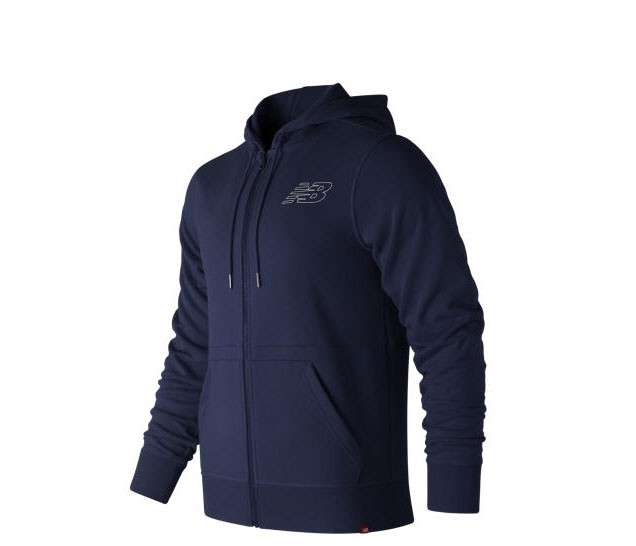 Campera New Balance Essentials Full Zip Hoodie MJ81508