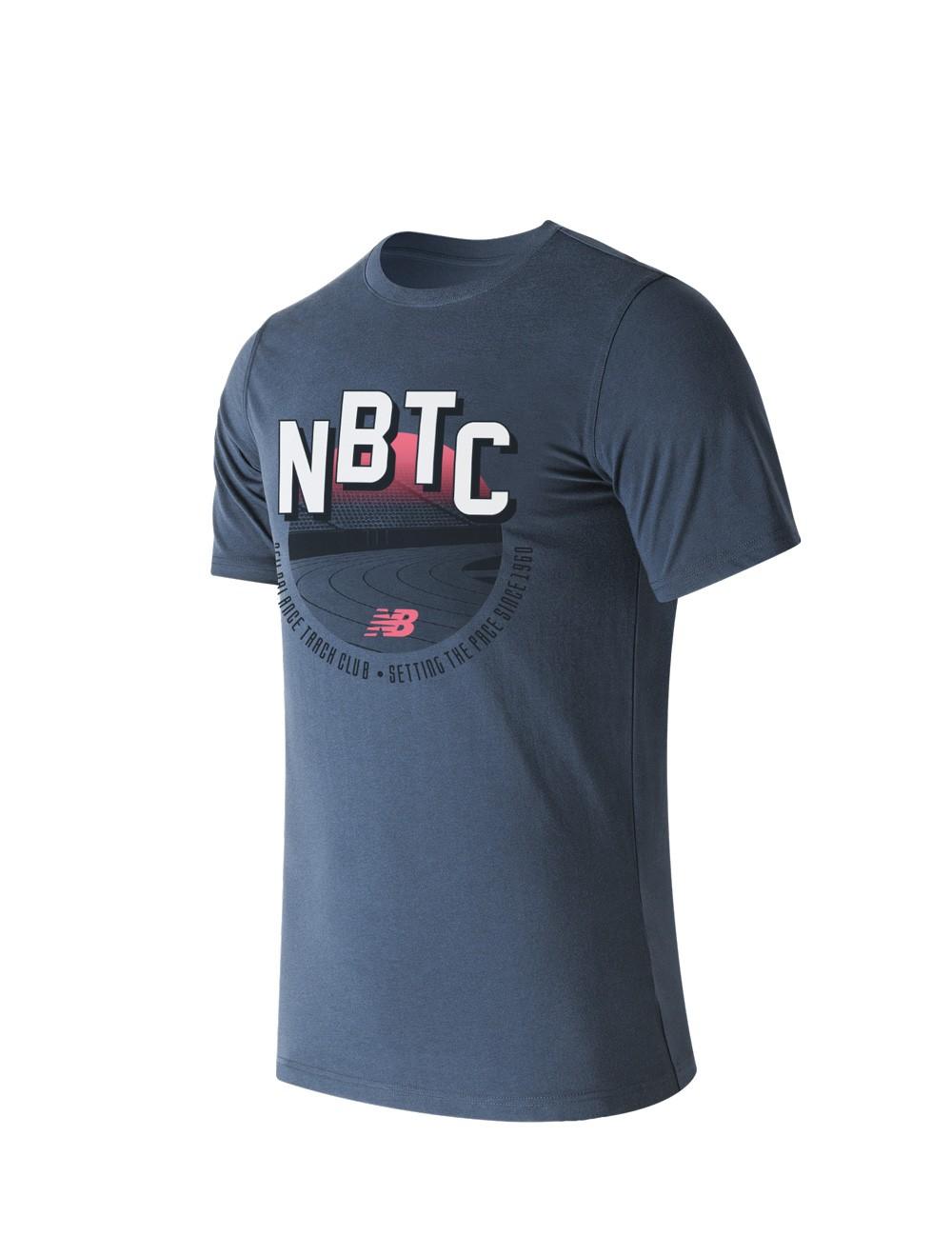 Remera de hombre New Balance Trackclub Stadium EMT61746