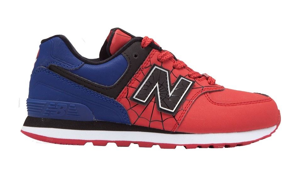 Zapatillas de niños New Balance 574 Avengers Spiderman PreGrade
