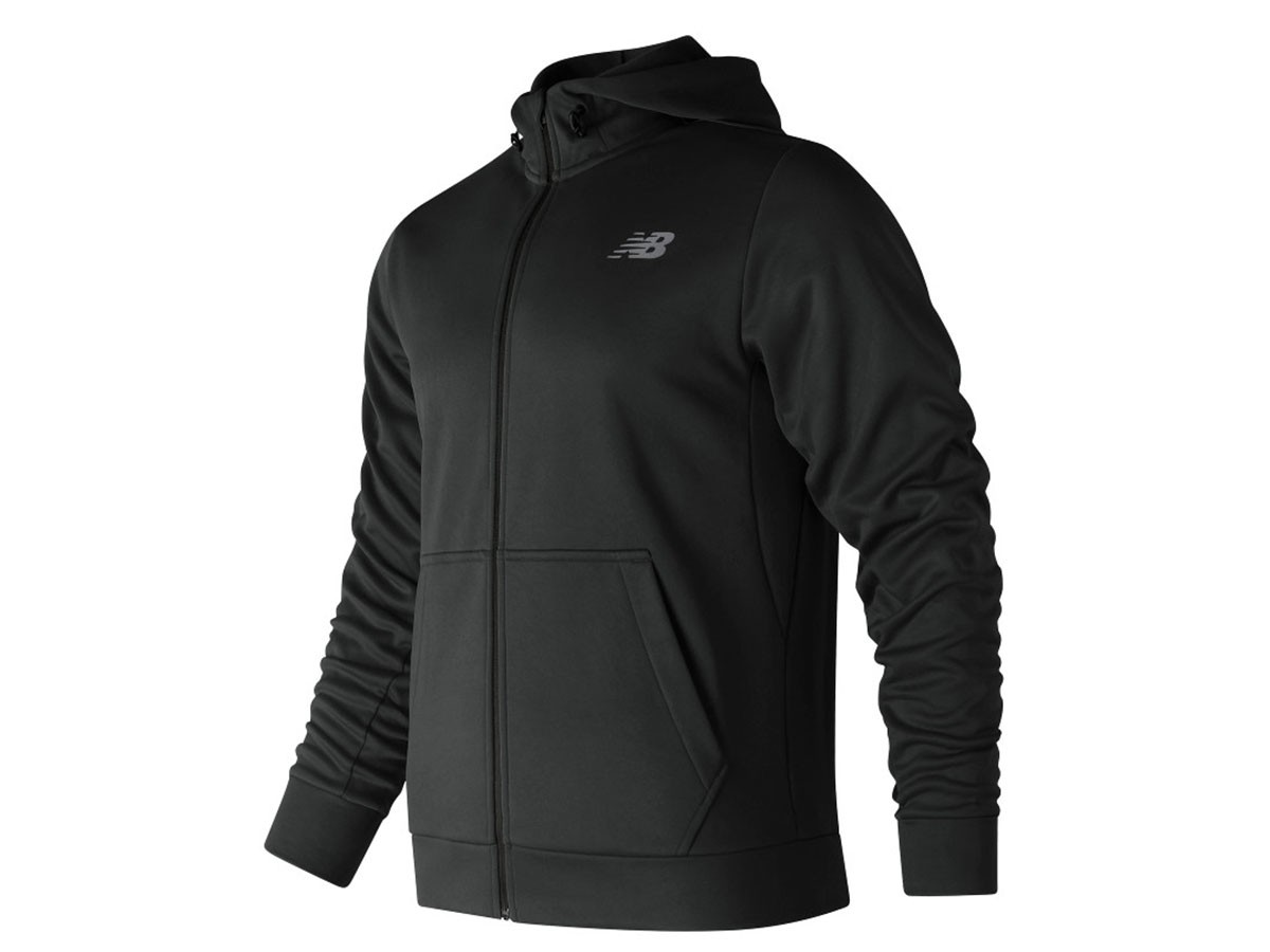 Campera de hombre New Balance CoreFleece Full Zip Hoodie MJ81005