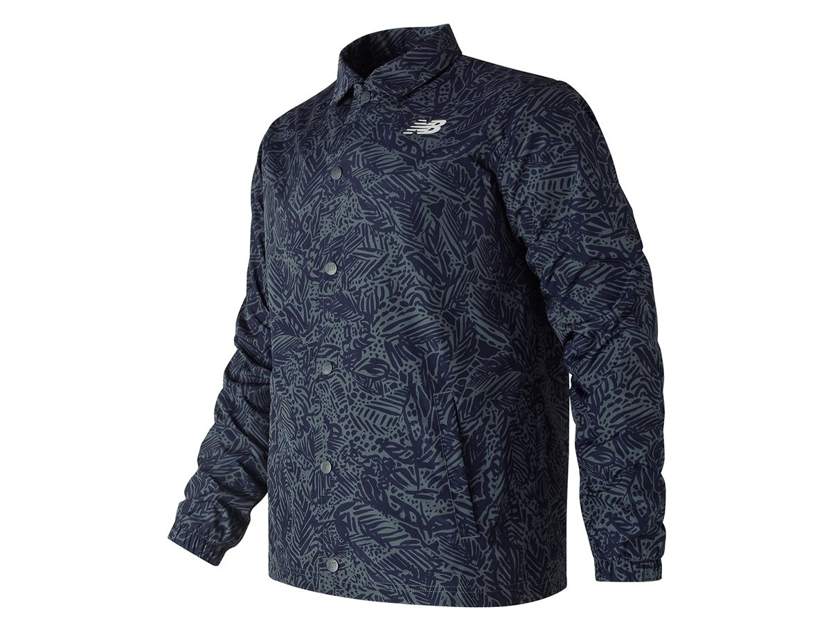 Campera de hombre New Balance Classic Printed Coaches Jacket MJ81534