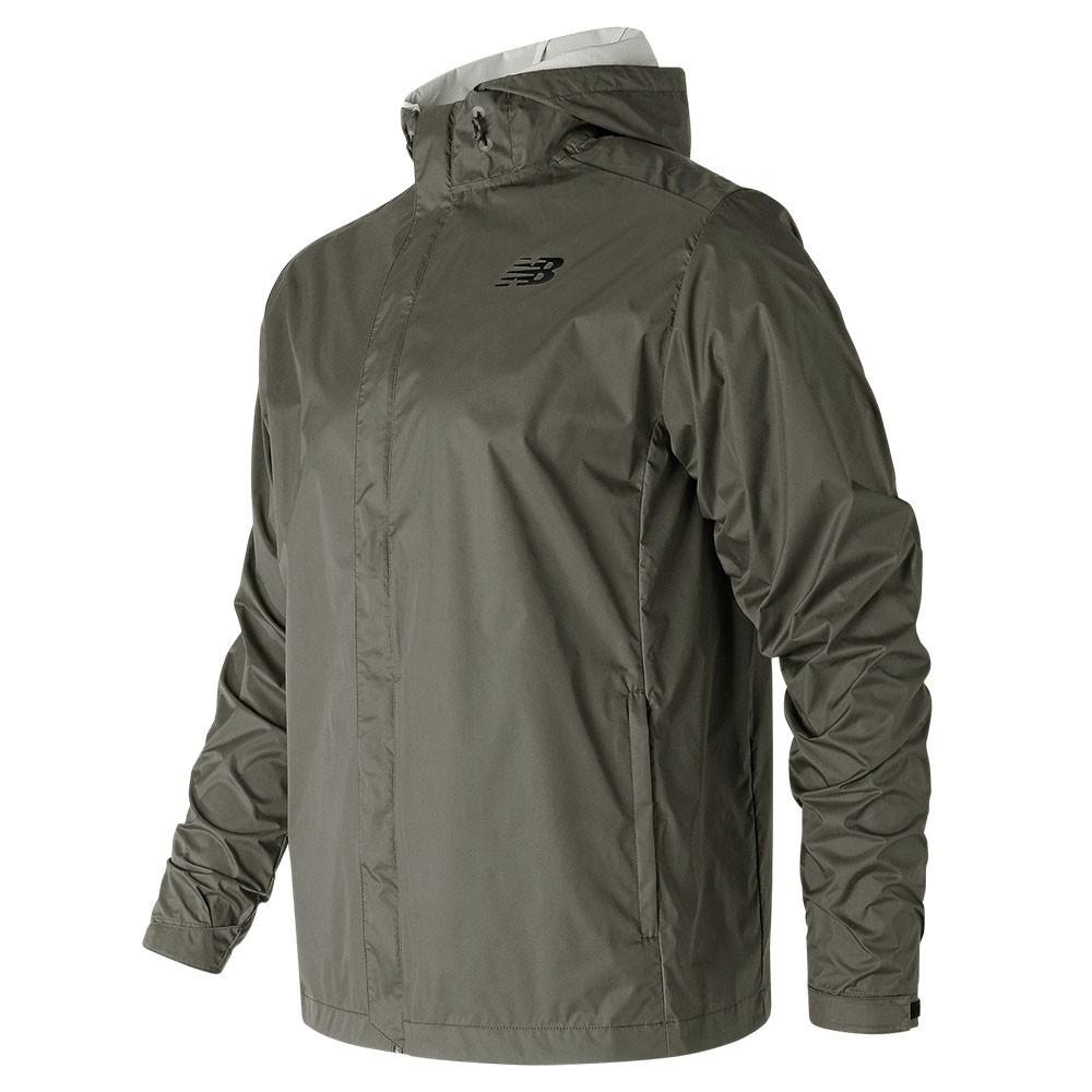 Campera de hombre New Balance 2 Half Layer Jacket MJ81885