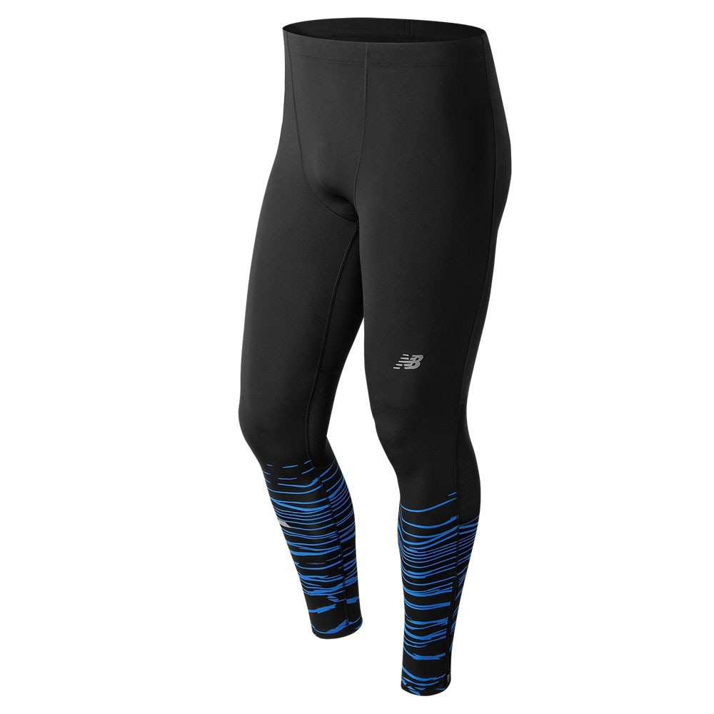 Calza larga de hombre New Balance Impact Printed Tight MP71229