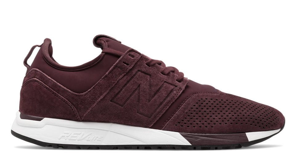 new balance sport suede marron