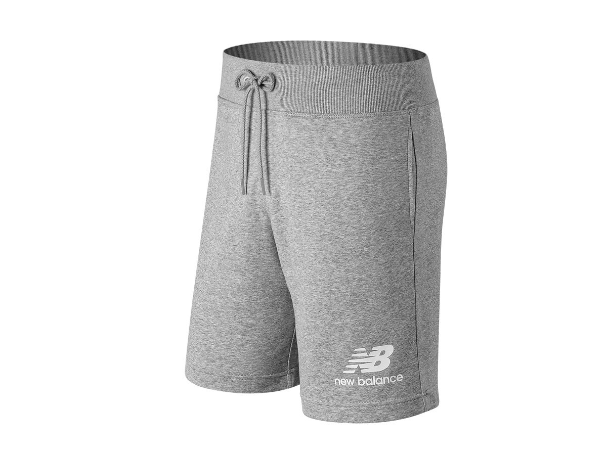 Short de hombre New Balance Essentials Stacked Logo MS91584