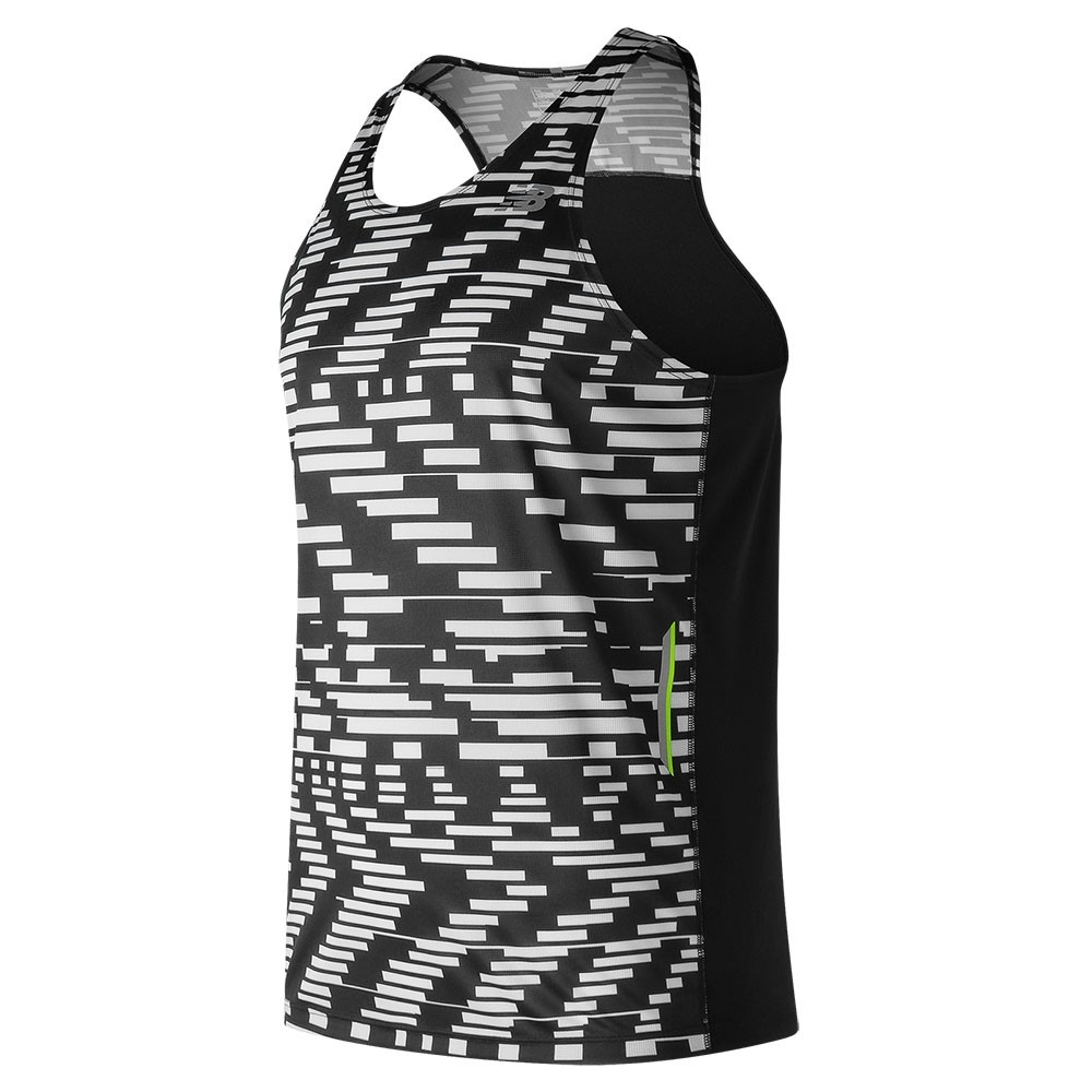Musculosa de hombre New Balance Ice Printed Singlet Running MT71223