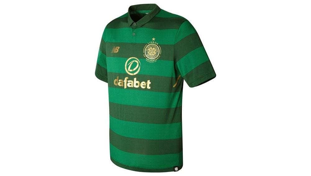 Camiseta de fútbol New Balance Hombre Celtic FC Away SS Jersey MT730045