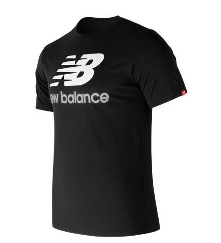 New Balance Remera Essentials Stacked Logo Tee MT73587