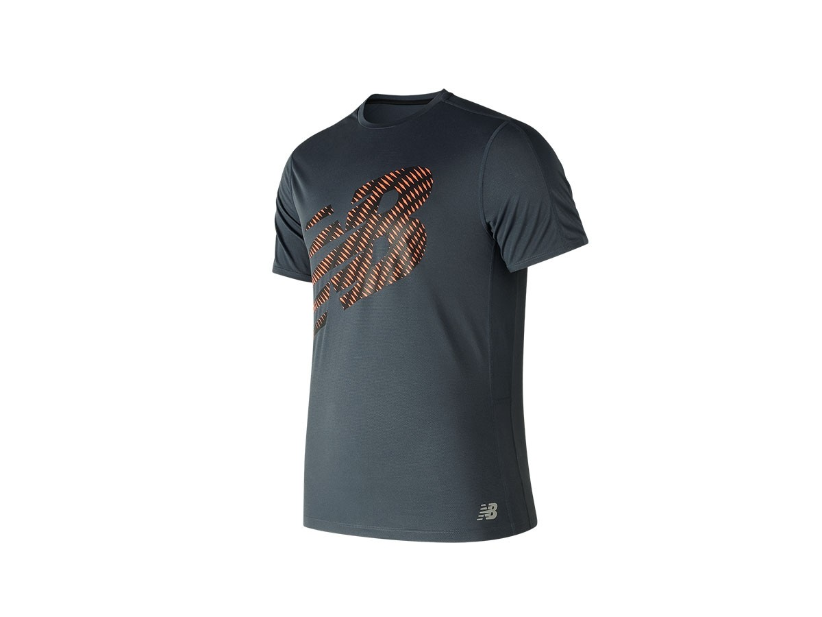 Remera de hombre New Balance Accelerate Graphic Short Sleeve MT81274