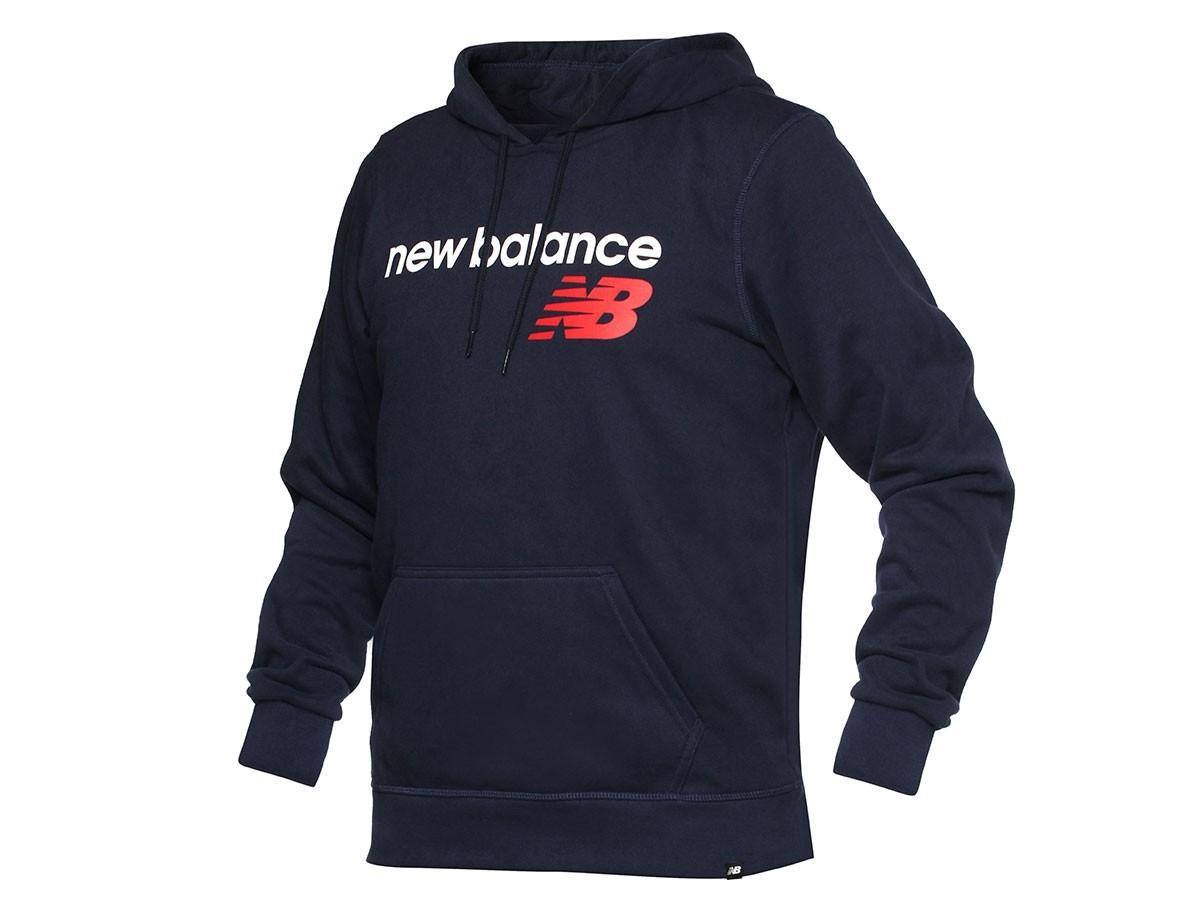 Buzo de hombre New Balance Athletics Logo Hoodie MTA0066