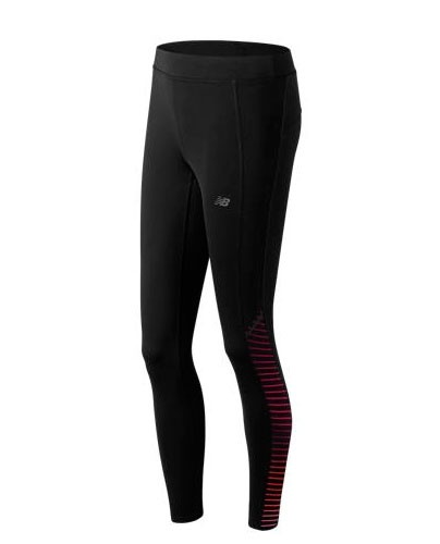 Calza larga de mujer New Balance Printed Accelerate Tight WP61144