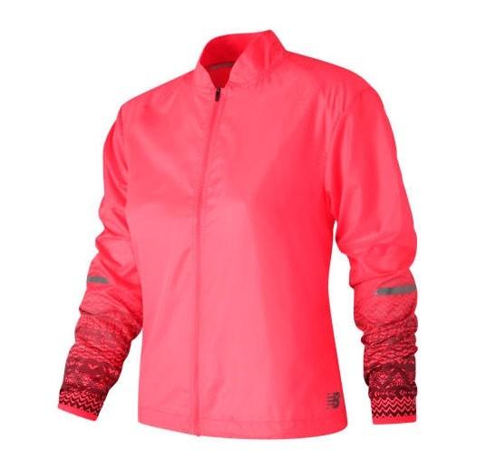 Campera de mujer New Balance Fun Run Jacket WJ71214