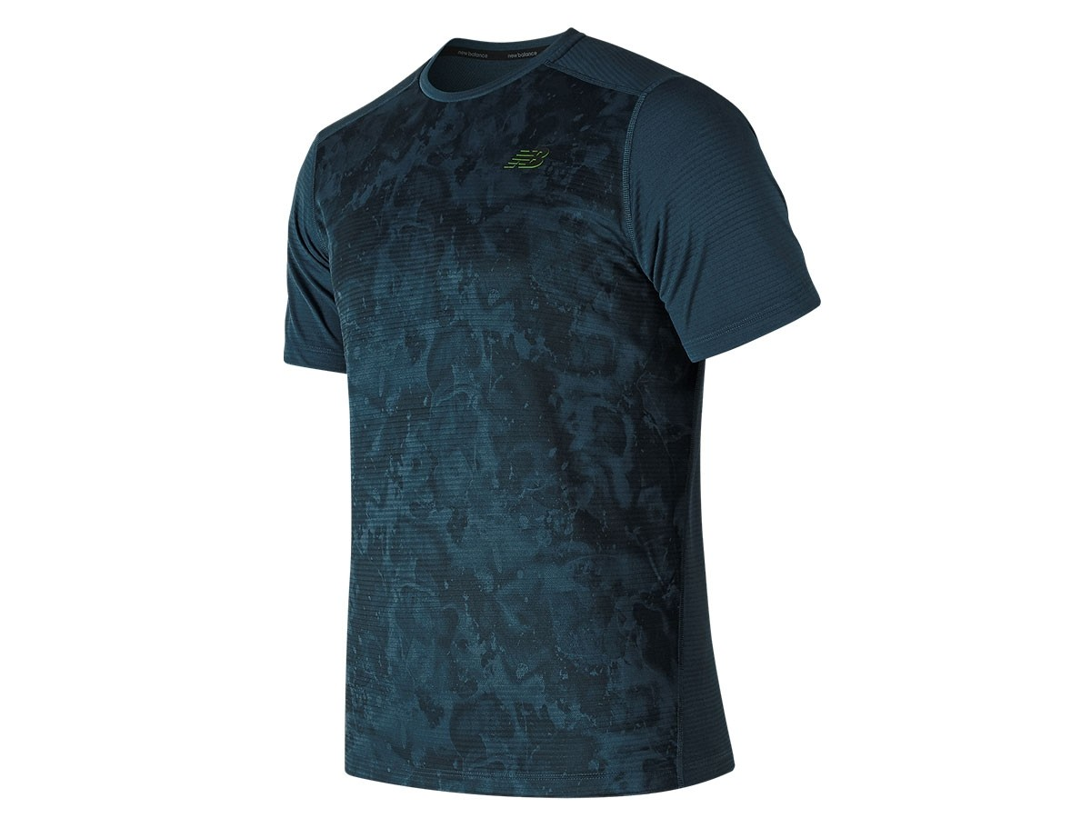 Remera de hombre New Balance Printed Max Intensity MT81048