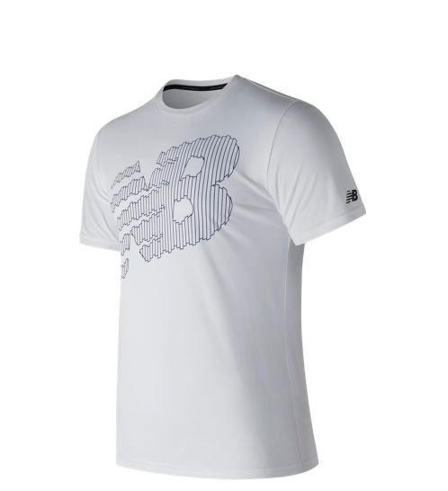 Remera New Balance Hombre Heather Tech Tee MT81082