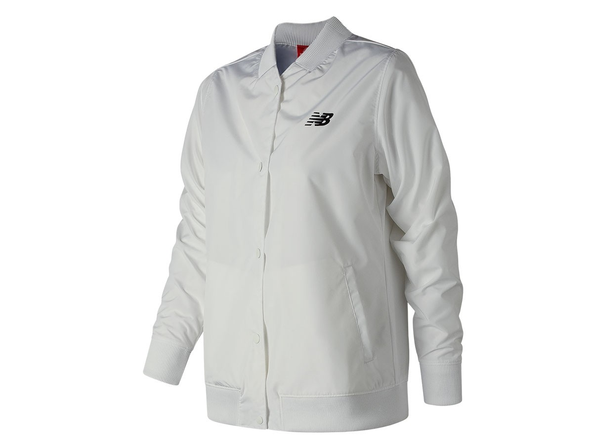 Campera de mujer New Balance Coaches Jacket WJ83529
