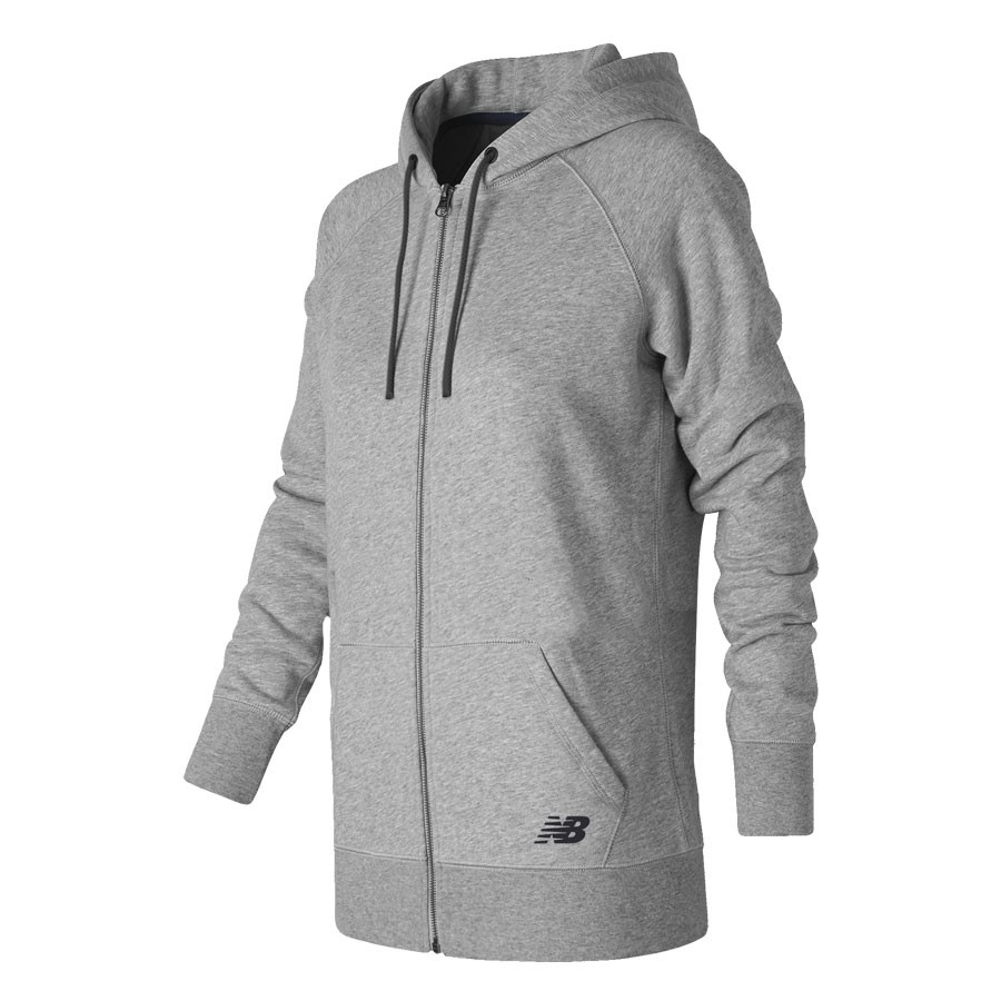 Campera New Balance Mujer Long Zip Hoodie WJA0000