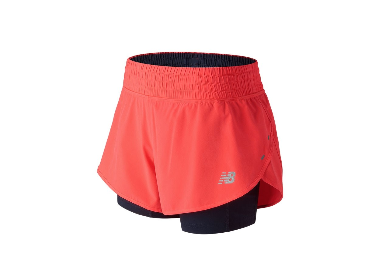 Short de mujer New Balance 4 Inch Impact WS81263