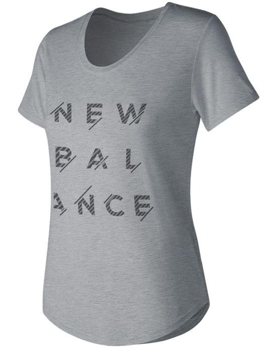 Remera de mujer New Balance   Style Tee WT71568