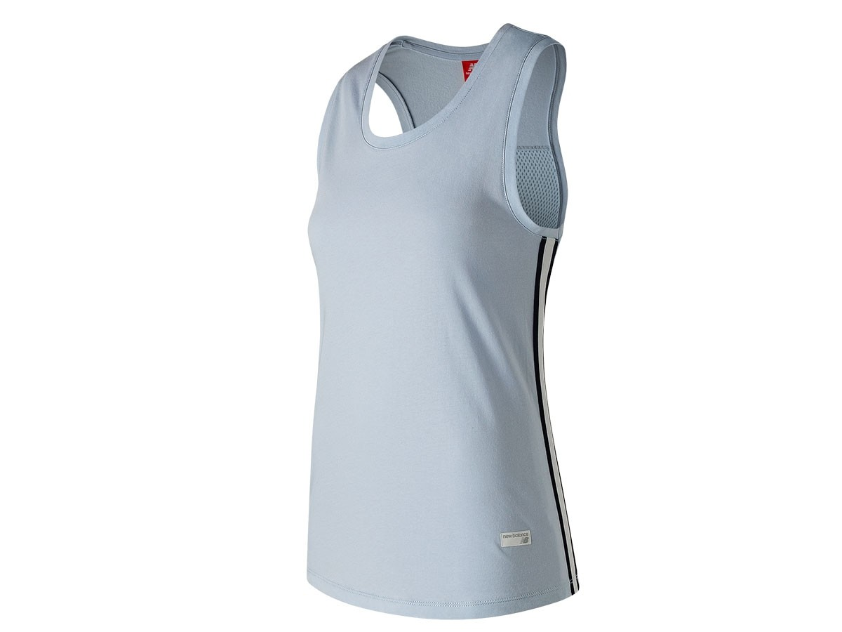 Musculosa de mujer New Balance Athletics Racerback Tank WT91558