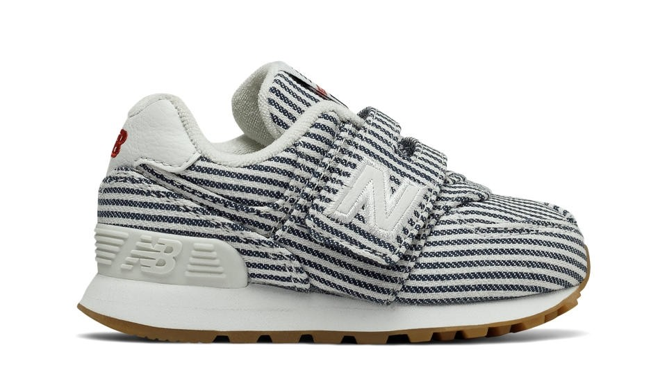 premium selection d2af0 98226 Zapatillas de niños New Balance 574 Beach Chambray Infant