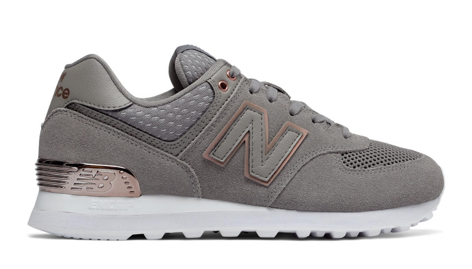 new balance mujer verde gris