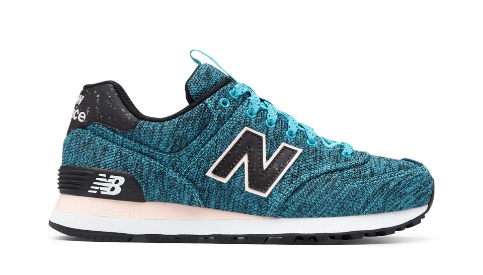 new balance 574 mujer azul